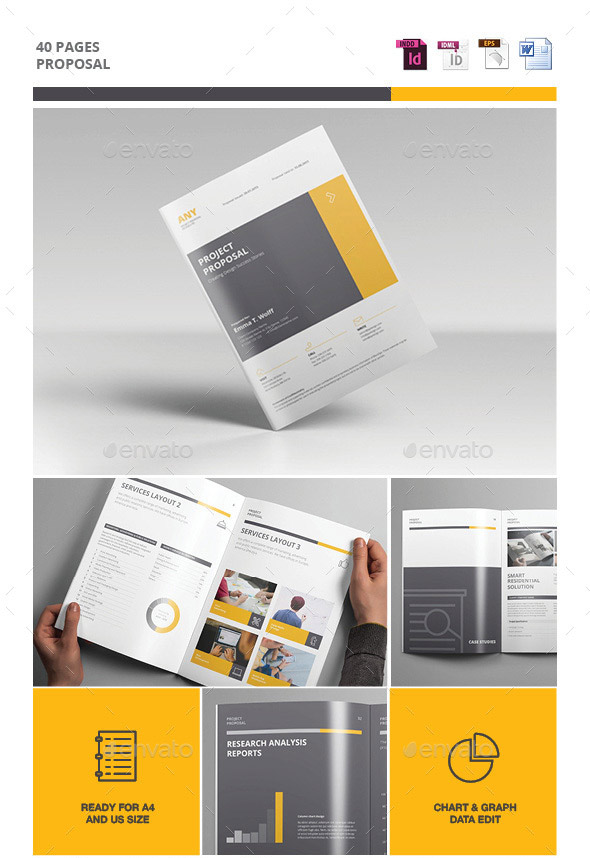 Beautiful Simple Business Proposal Template