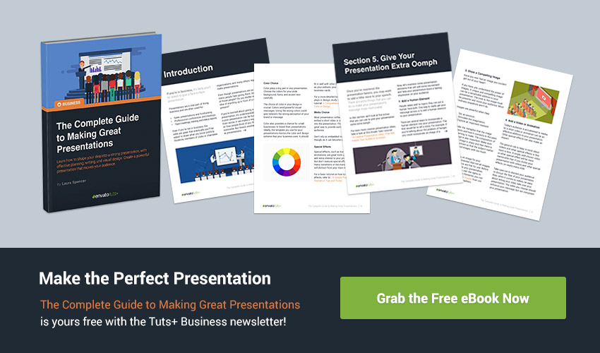 Make a Great Presentation Free eBook