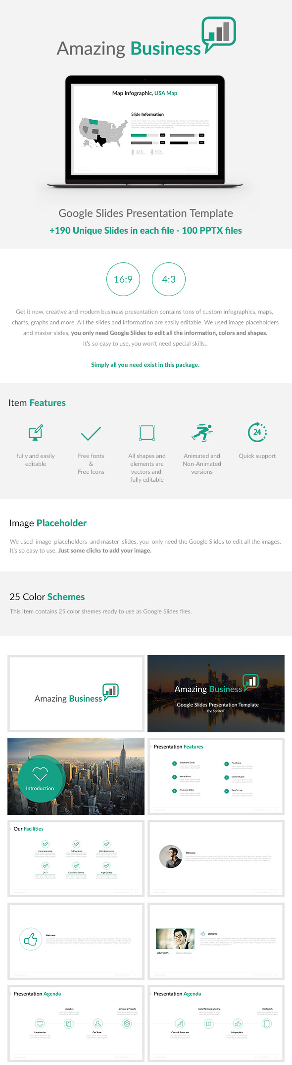15 best google slides presentation themes premium templates to download envato tuts for Best google slide themes