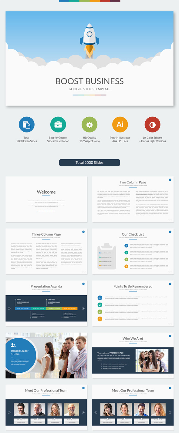 Free Powerpoint templates and Google Slides themes for