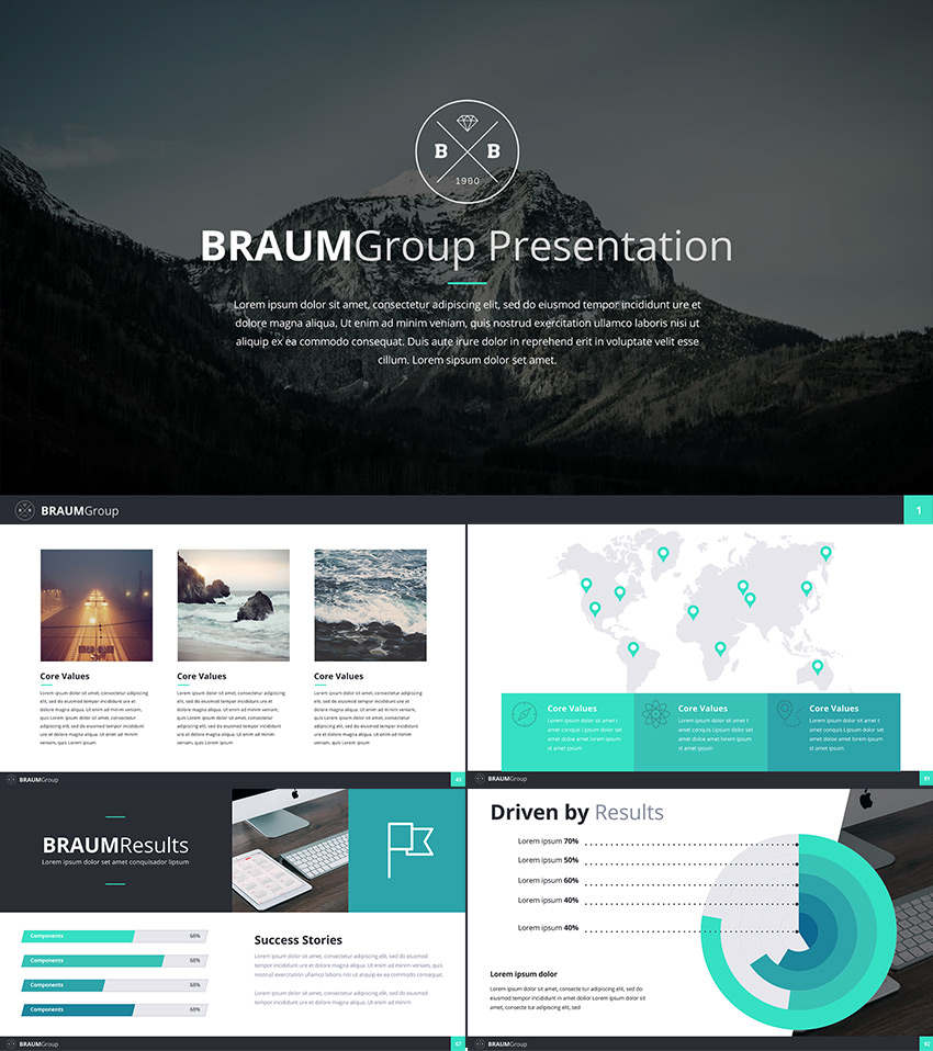 Best Google Slides Presentation Themes Premium Templates To - Best of company profile ppt scheme