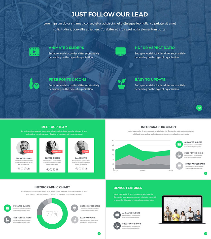 Best Google Slides Presentation Themes Premium Templates To - Slide templates for google