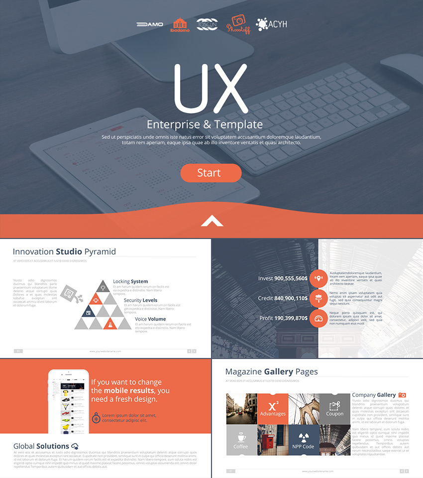 Best Google Slides Presentation Themes Premium Templates To - Google design templates