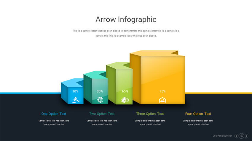 Engaging Infographic Slide Design Example