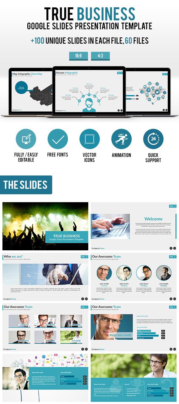 True Business Google Slides Presentation Template