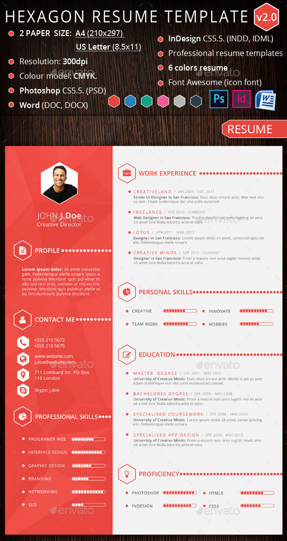 15 creative infographic resume templates envato tuts
