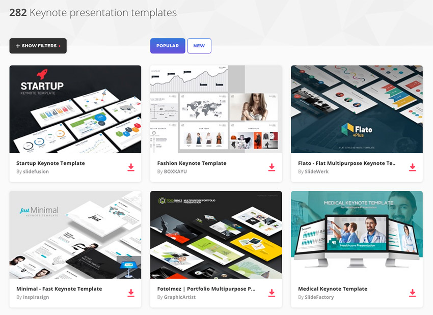 Best Keynote Presentation Templates