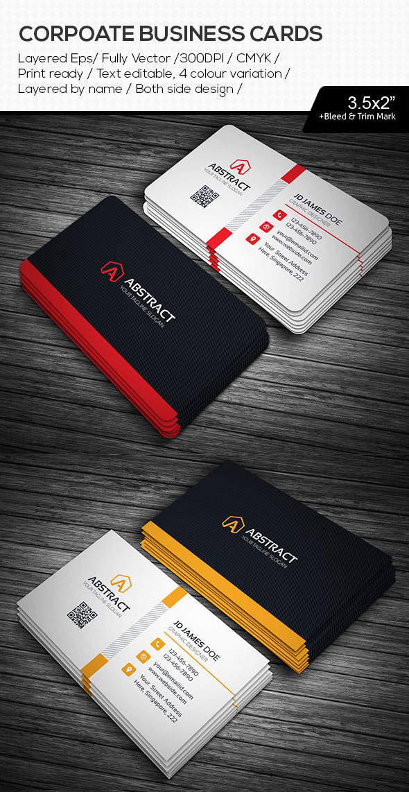 15 premium business card templates in photoshop illustrator abstract illustrator ai business cards reheart Gallery