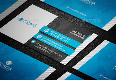 Premium business card templates preview