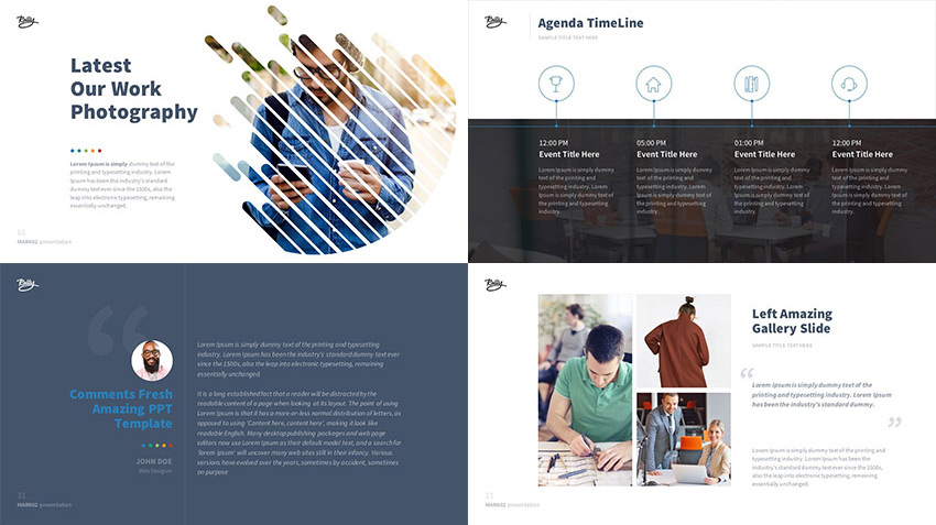 Best new presentation templates of 2016 powerpoint keynote mark02 powerpoint presentation set of slide designs toneelgroepblik