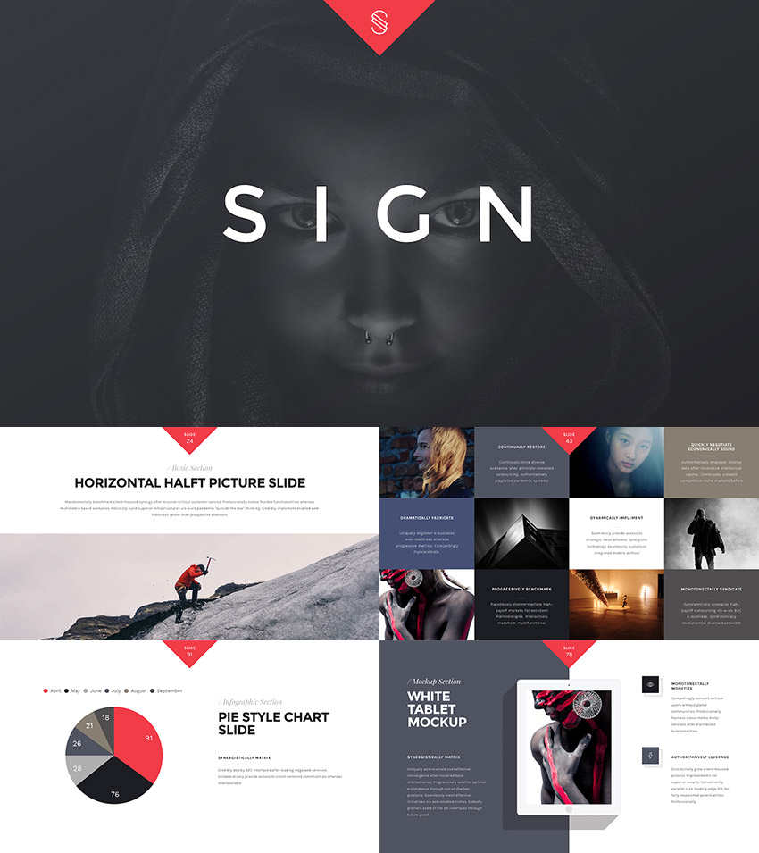 Keynote Presentation Design Theme 2016