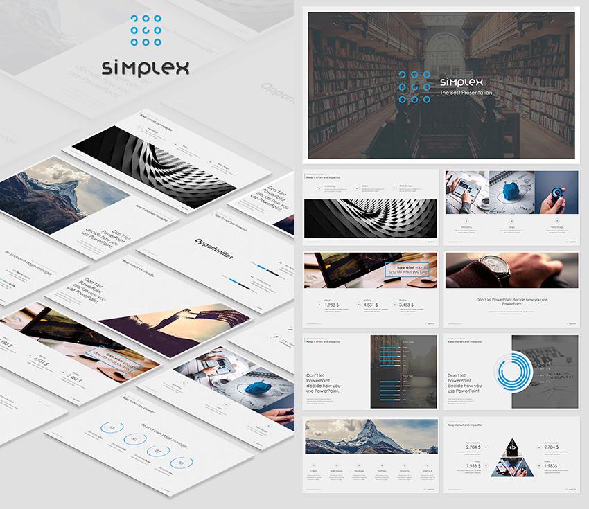 Simplex Slides 2016 Google Slides Presentation Theme