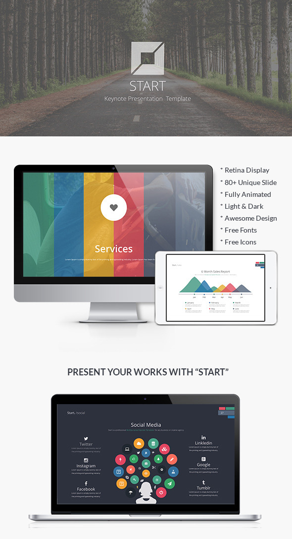 Start Keynote Presentation Template
