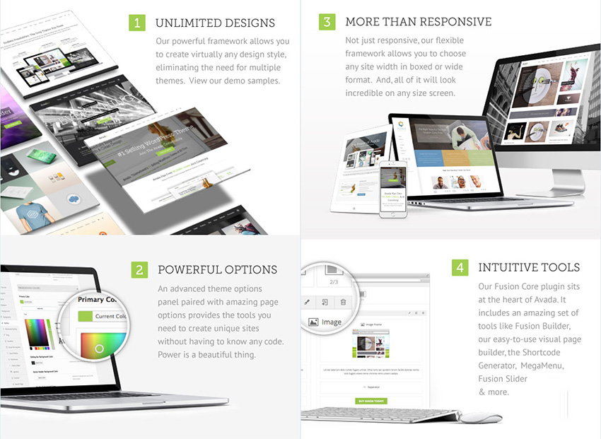 Best business WordPress themes have powerful features