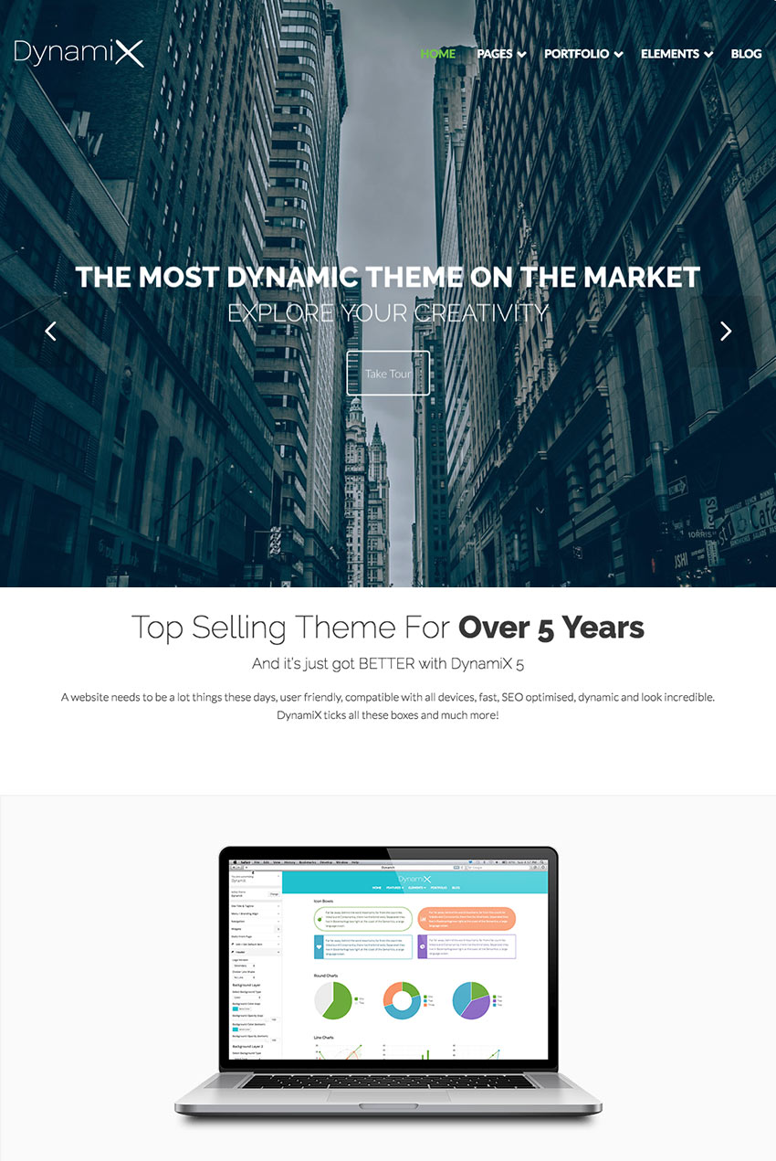 DynamiX -Dynamic Corporate Business Wordpress Theme