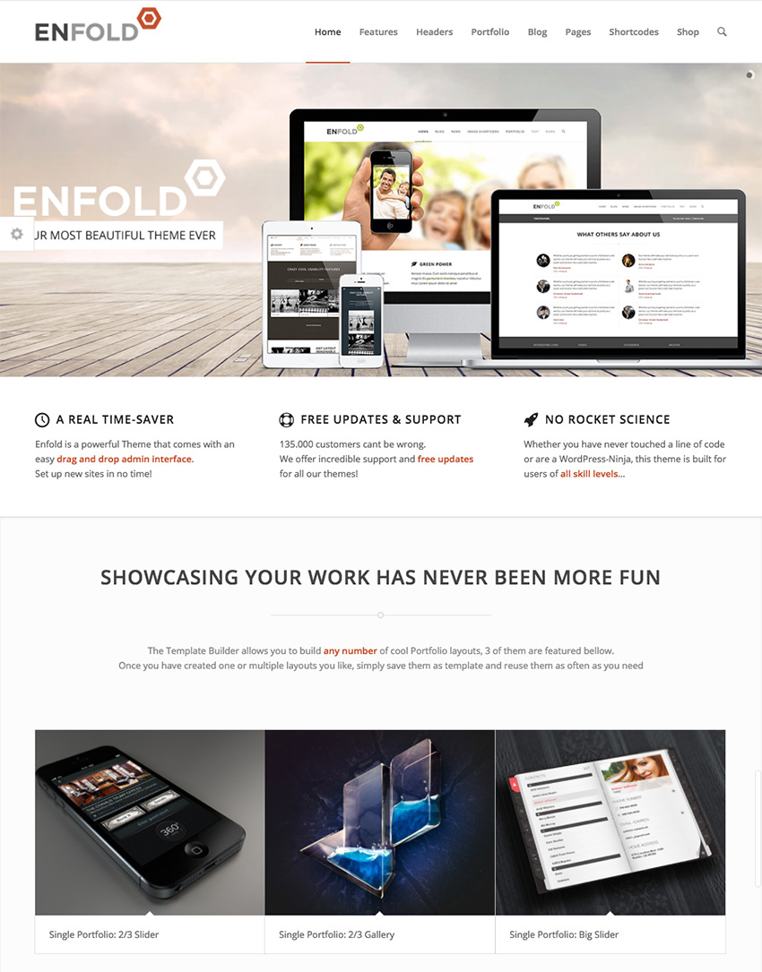 Enfold User-Friendly Corporate Business WordPress Theme