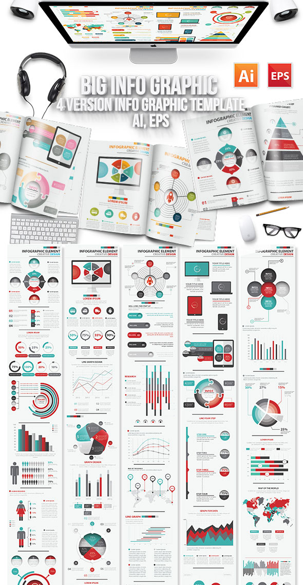 Design model of infographic elements