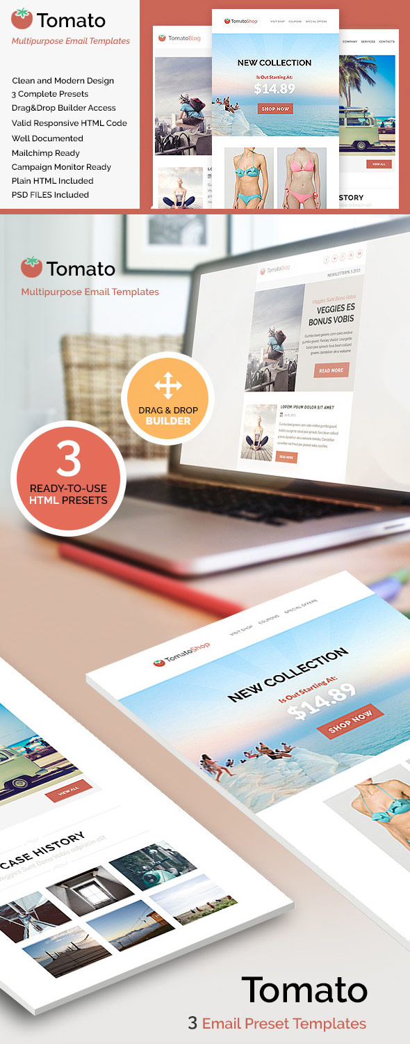20 Responsive Email Newsletter Templates—For Your Next Marketing ...