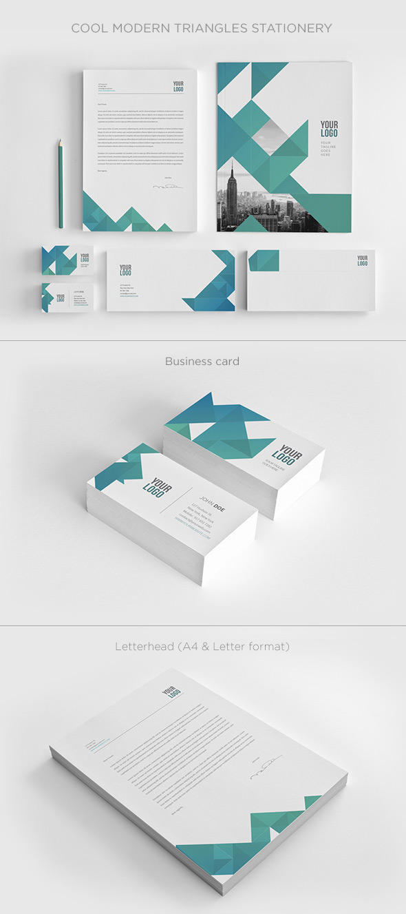 15 corporate brand identity packages with creative designs