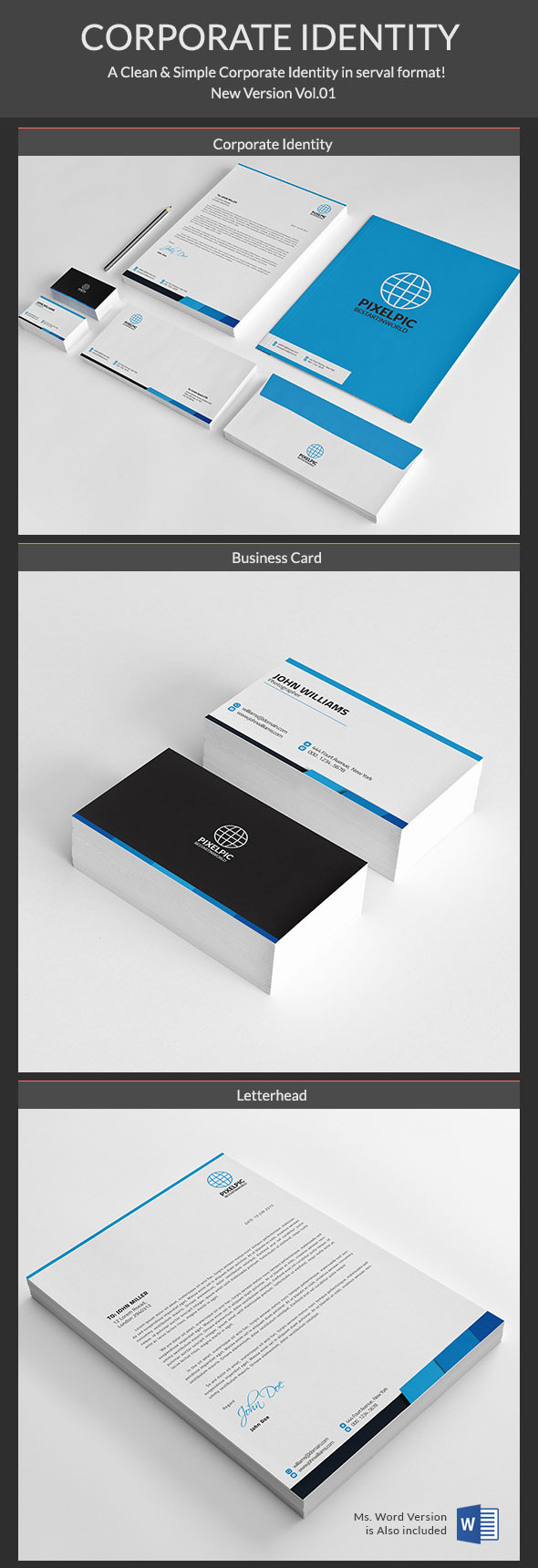 Corporate Identity Template Package