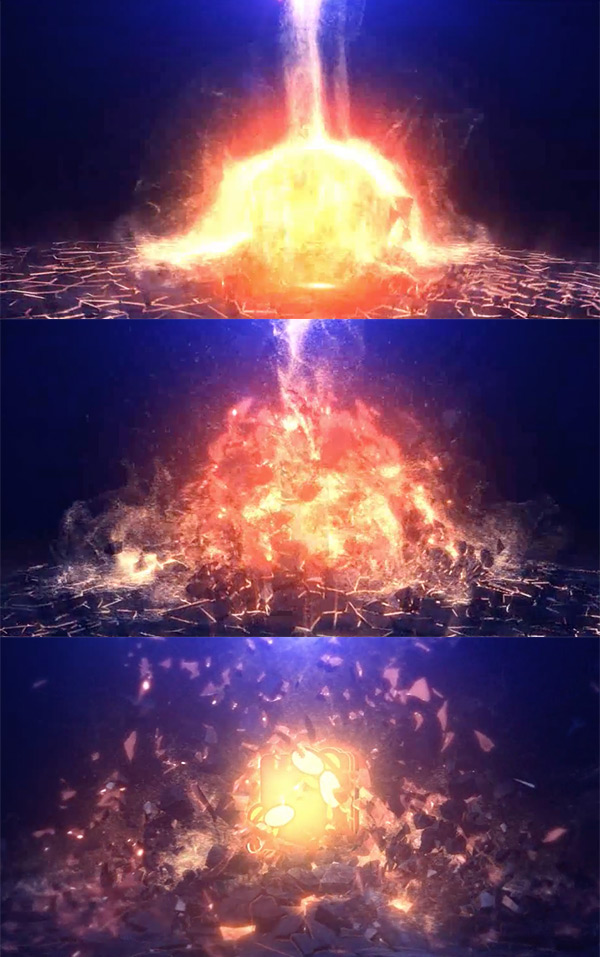 25 video logo animations for your inspiration epic explosion logo video animation toneelgroepblik Images
