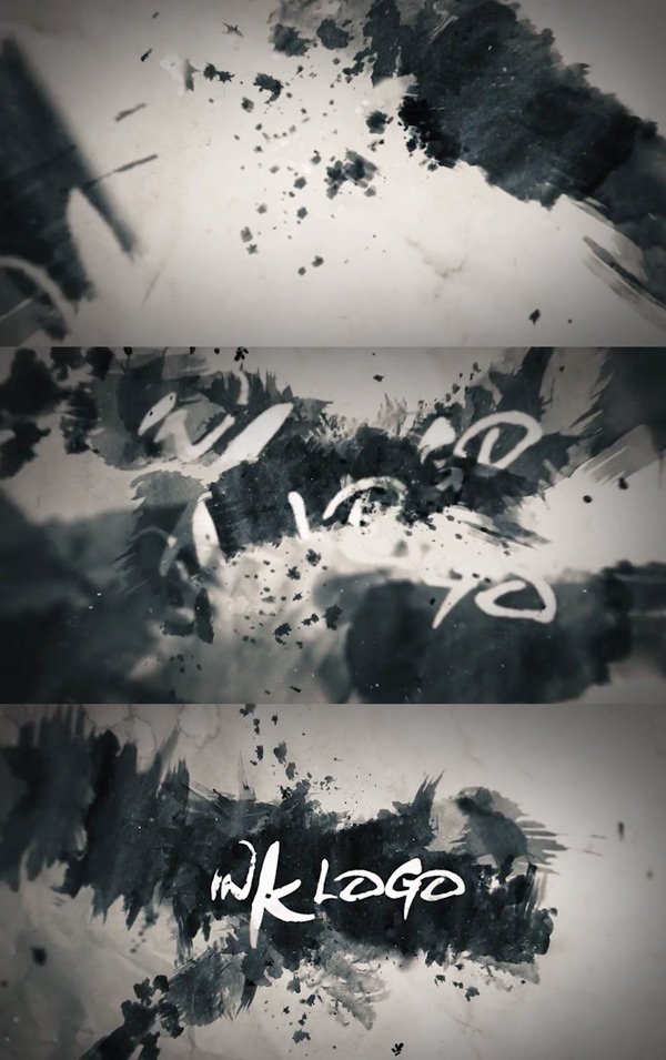 Ink Logo in After Effects