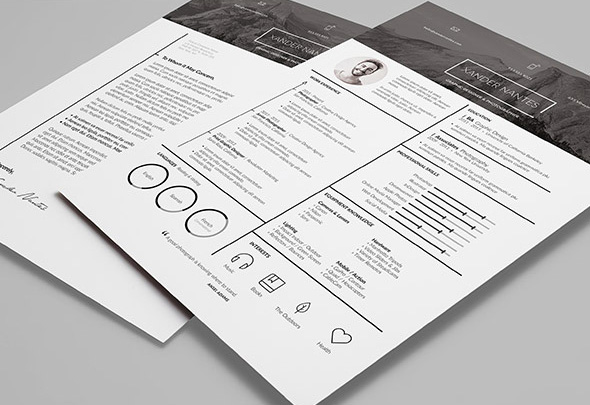 Ansel Resume Template