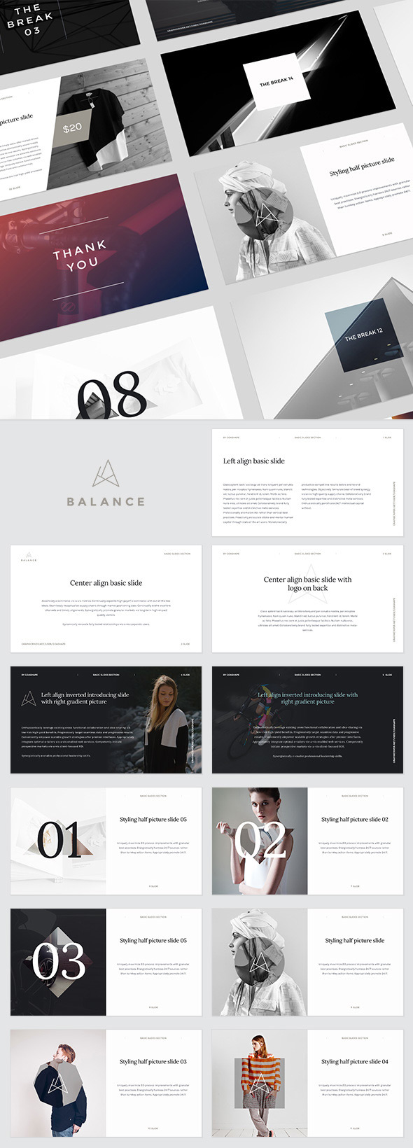 20 ppt templates for simple modern powerpoint presentations balance powerpoint presentation template toneelgroepblik Image collections