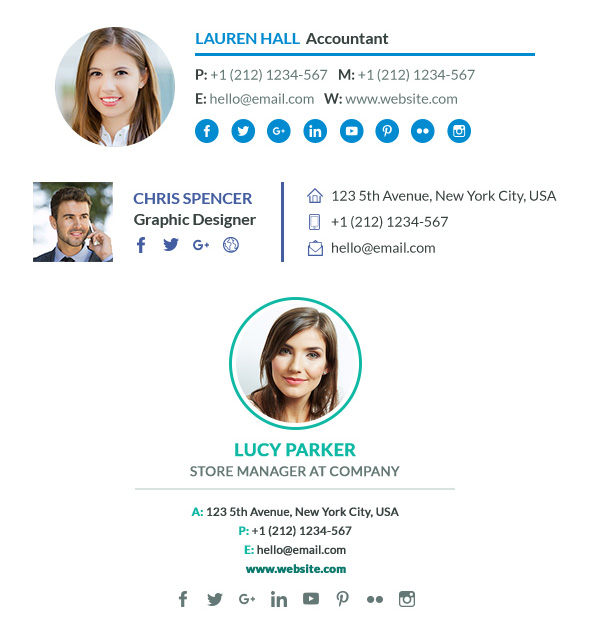 9 Professional Email Signature Tips With Best Template Examples – Email Signature Template