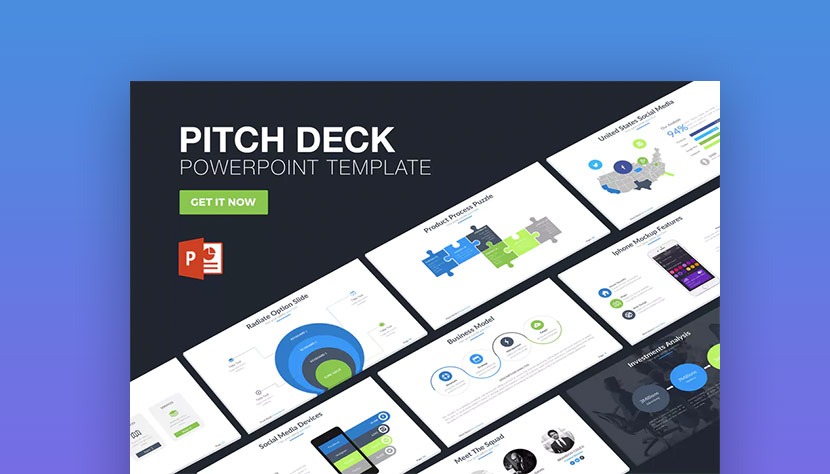 30 best pitch deck templates for business plan powerpoint. Black Bedroom Furniture Sets. Home Design Ideas