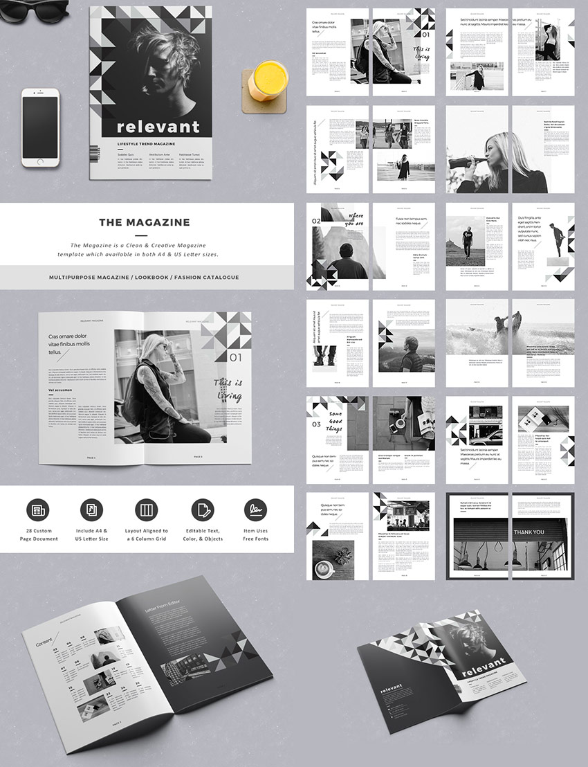 The Magazine Elegant Layout Design