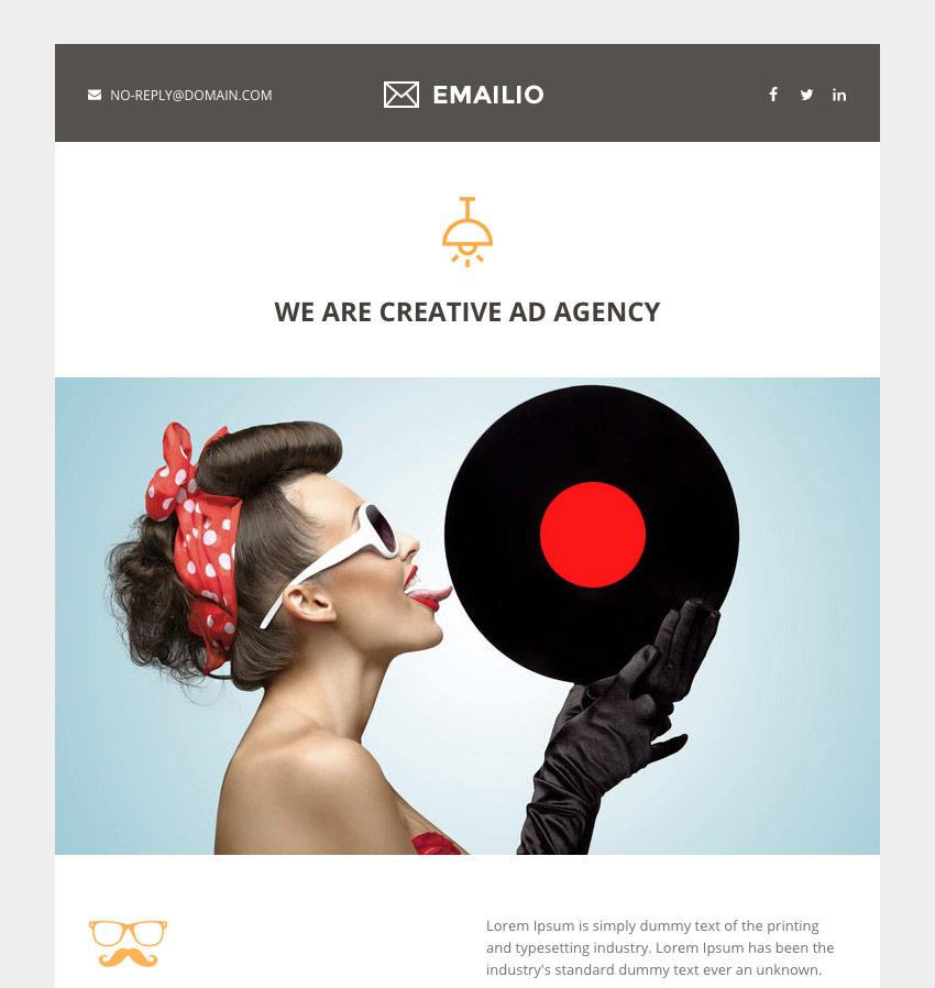 Emailio - Responsive Mailchimp Multipurpose Email Template