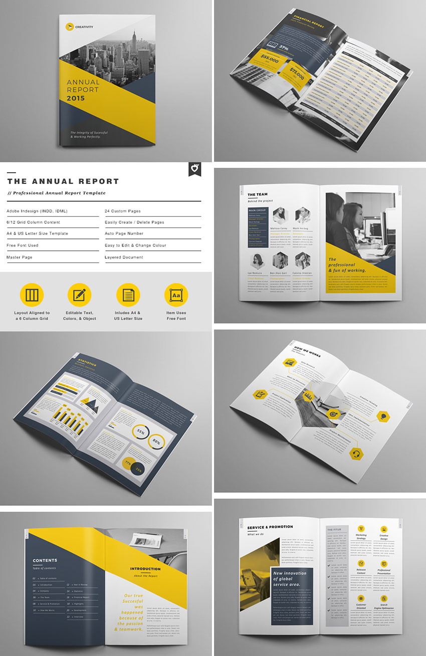 The Annual Report - Creative Brochure
