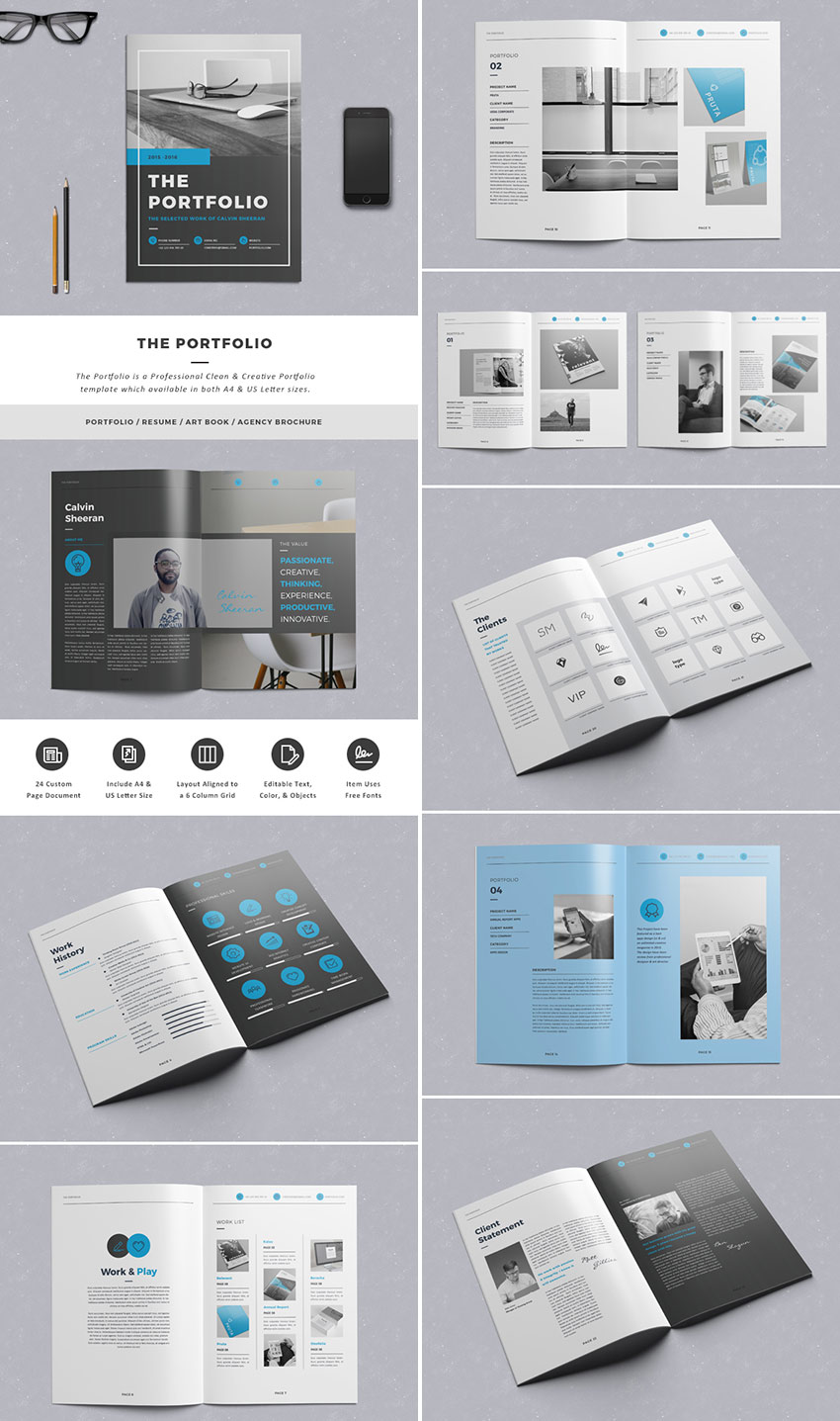 The Portfolio - InDesign Creative Brochure