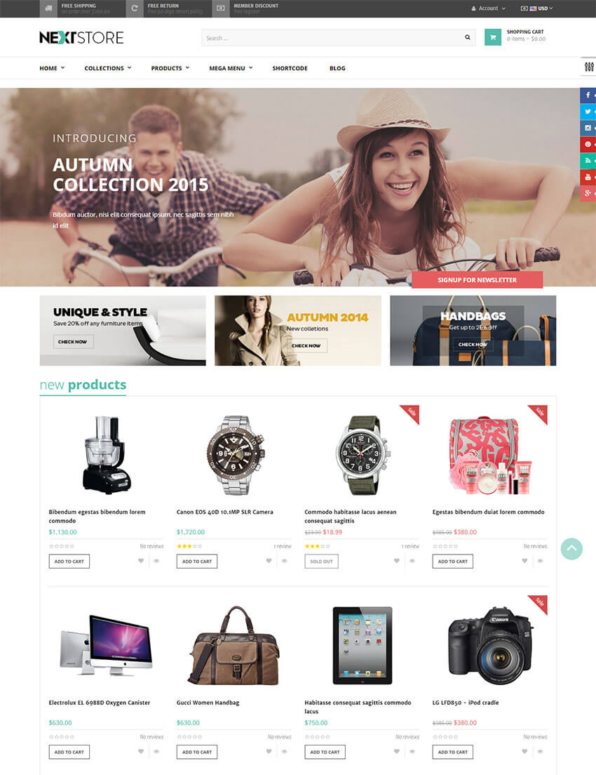 AP Next Store Flexible Shopify Theme