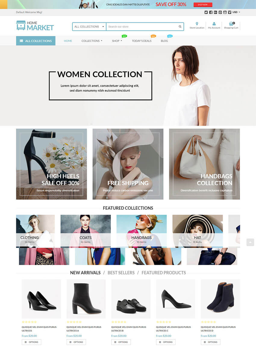 Home Market - Versatile Shopify Theme