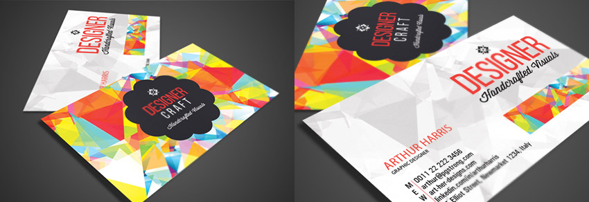 Creative Graphic Design Business Card