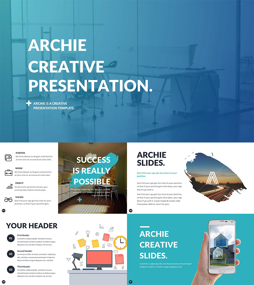 powerpoint template for creative presentation ideas - Powerpoint Design Ideas
