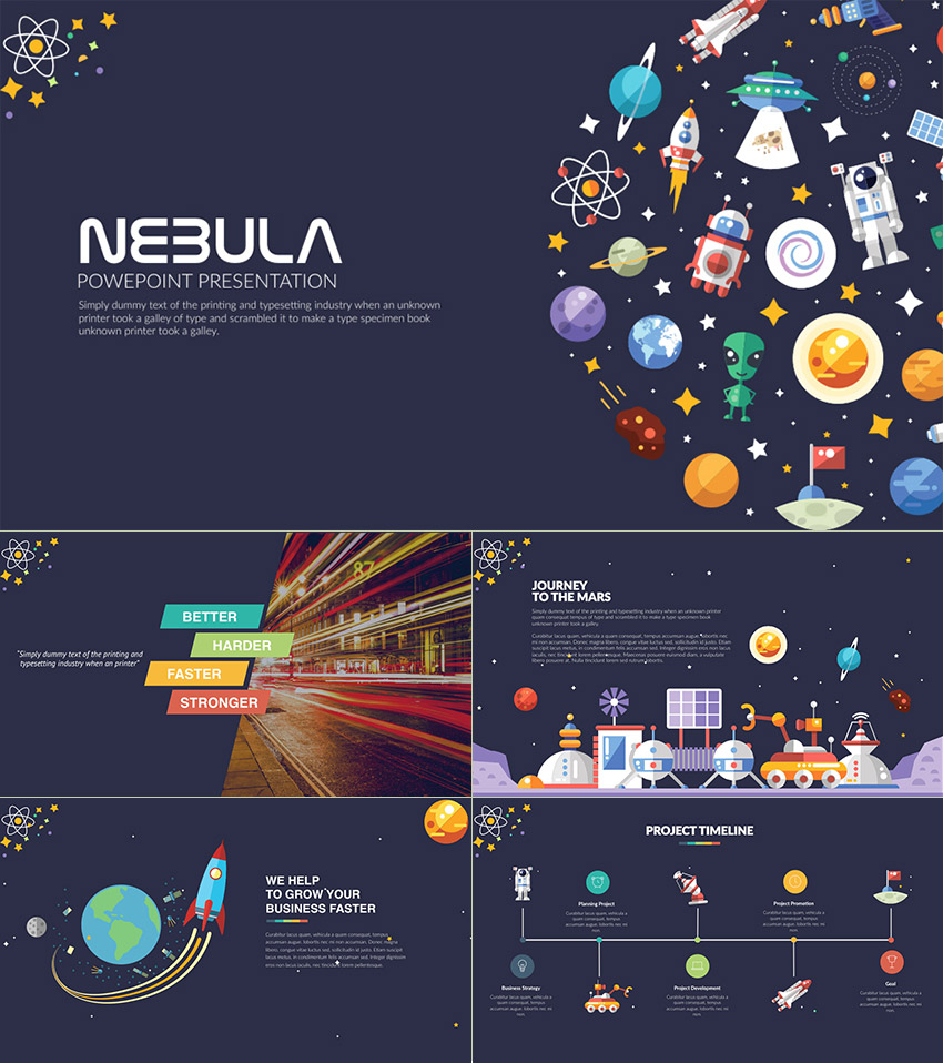 15 creative powerpoint templates for presenting your for Design a space online