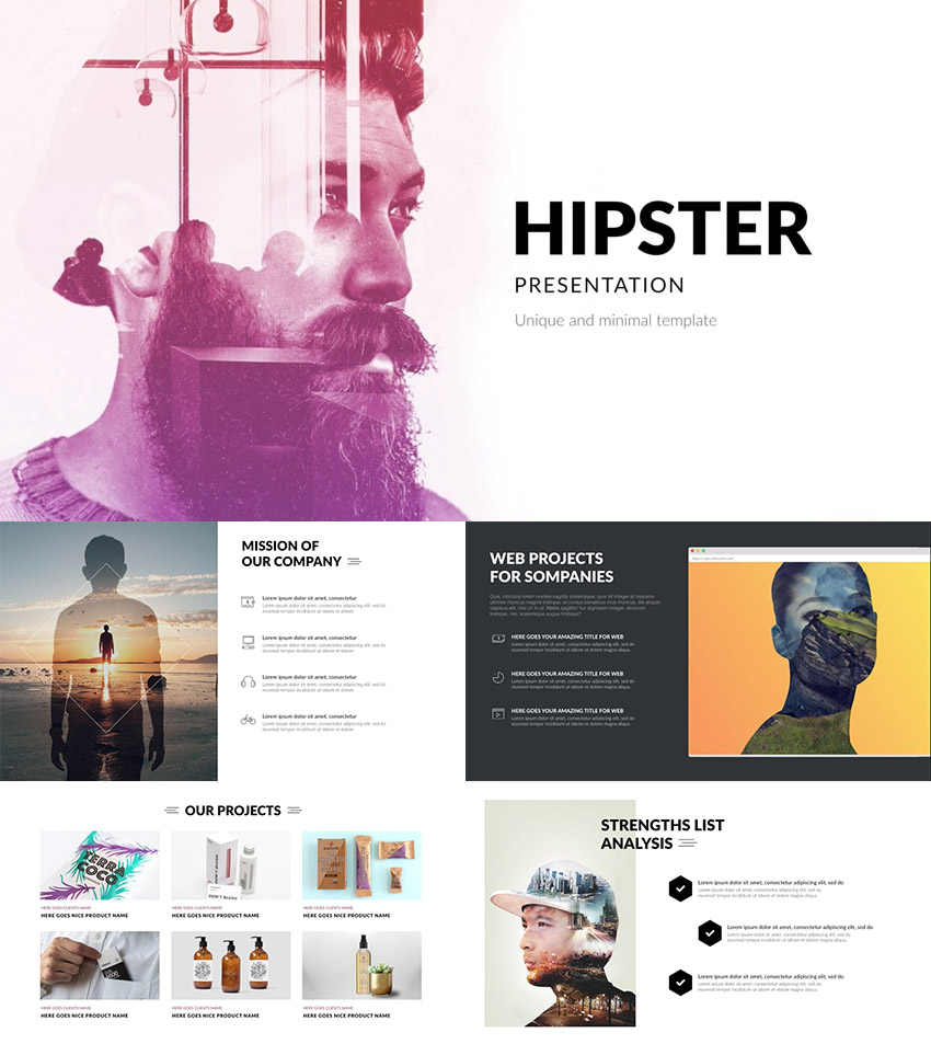 15 creative powerpoint templates - for presenting your innovative, Modern powerpoint
