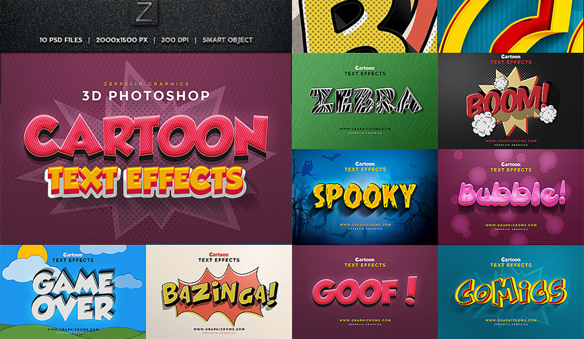25 Creative Photoshop Text Effects With Vibrant Styles
