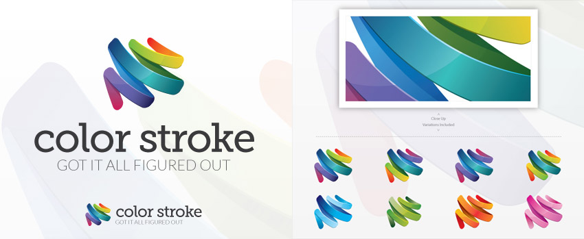 Creative Colorful Logo Design Template