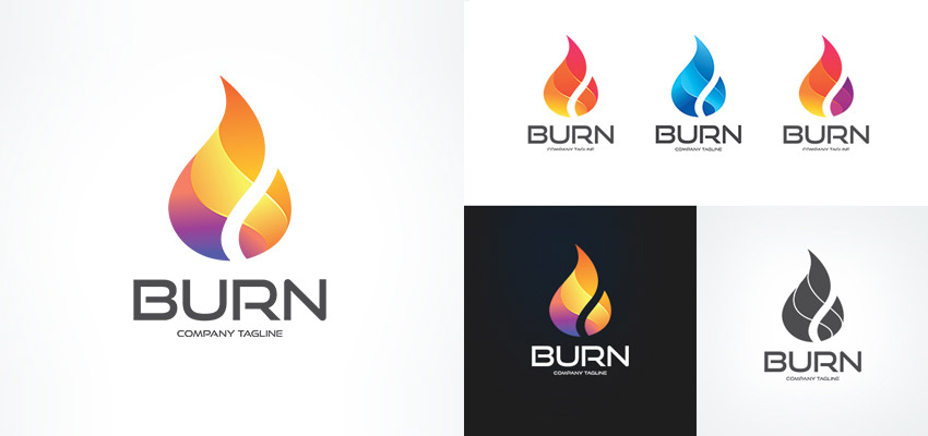 Vibrant Business Logo Design Template