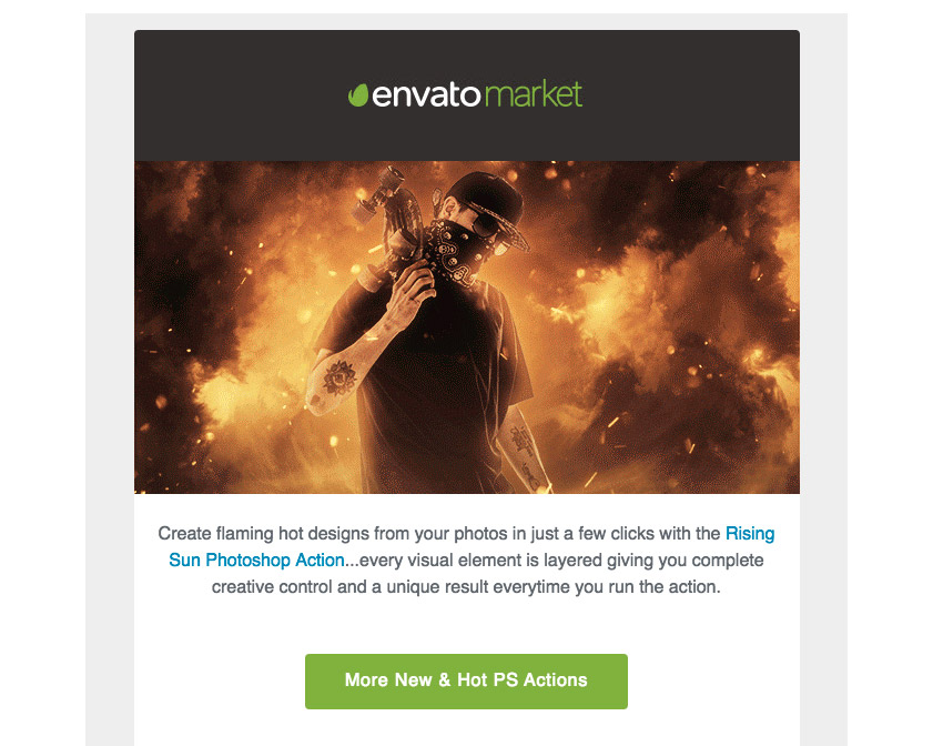Envato Market Email Gif Example