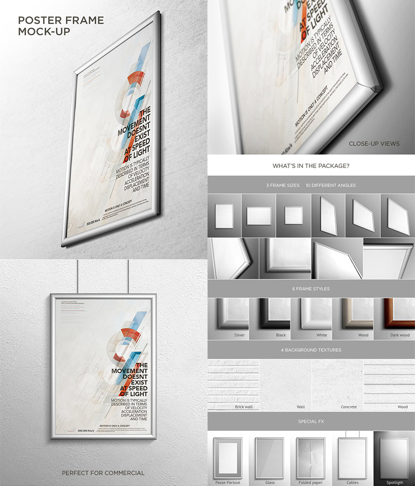 A5 Poster Mockup Template for Designers