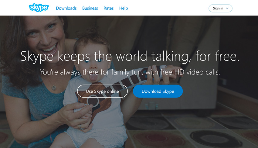 Skype Business Productivity and Communication App