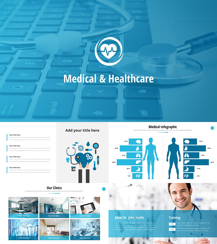 medical powerpoint templates for amazing health presentations medical and healthcare powerpoint slide theme