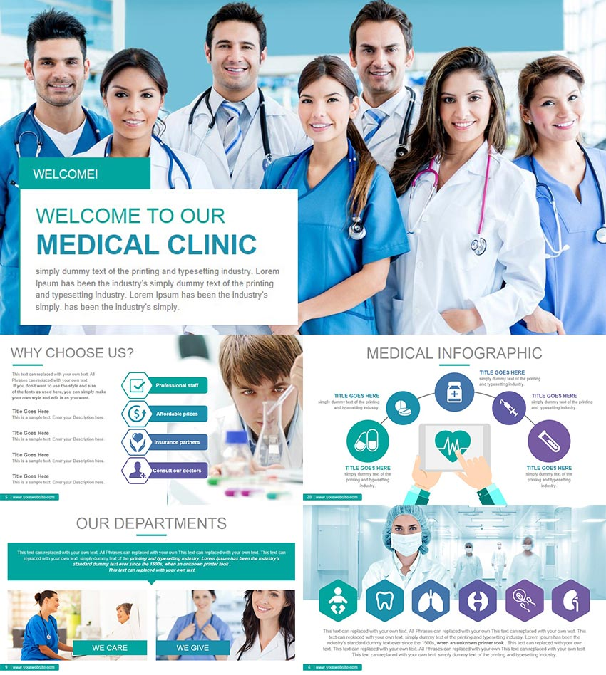 Medical and Healthcare 2 PowerPoint Presentation Theme
