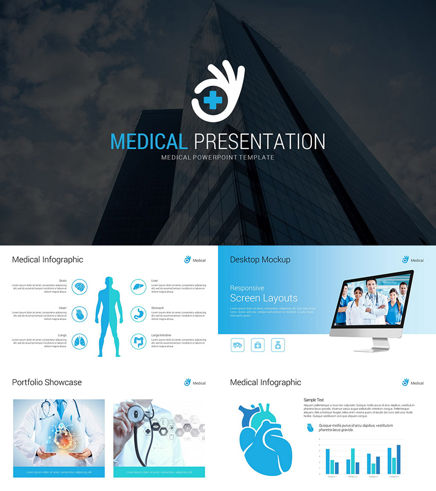21 medical powerpoint templates for amazing health presentations medical professional presentation powerpoint template toneelgroepblik Choice Image