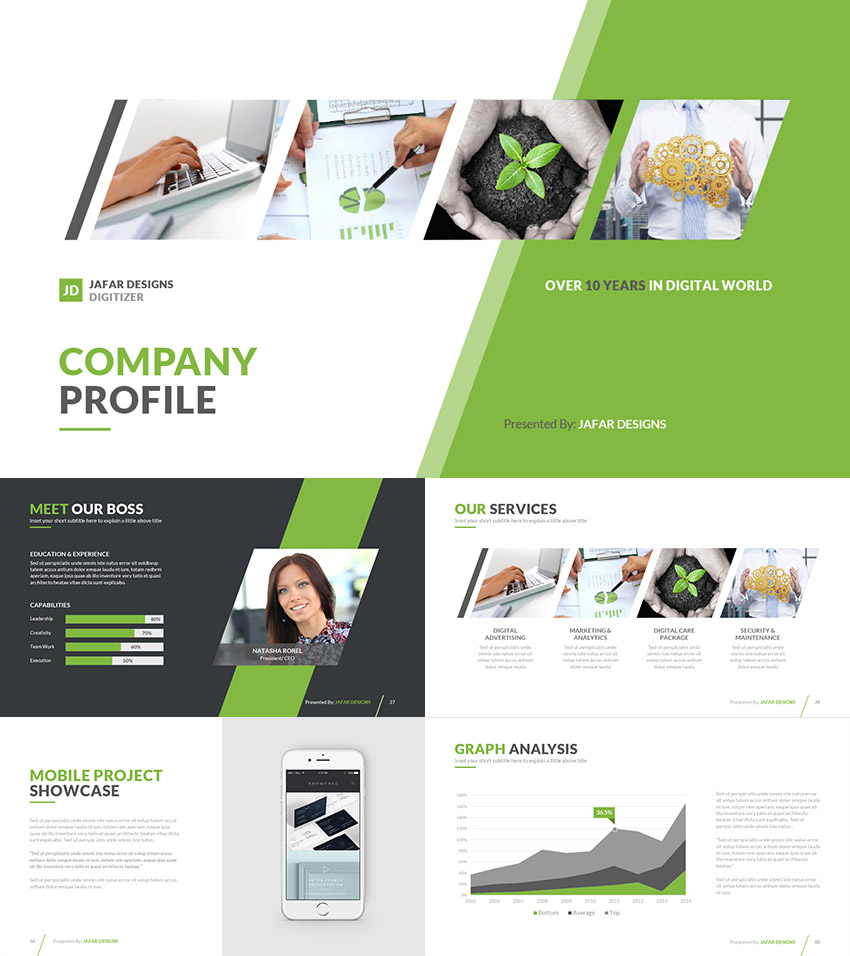 Company Profile PPT Template